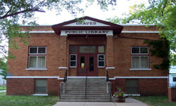 Graves Library Museum, built in 1915, also houses a wrench collection.