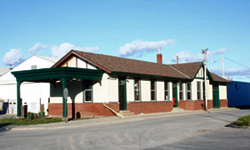The Wakefield Train Depot today.